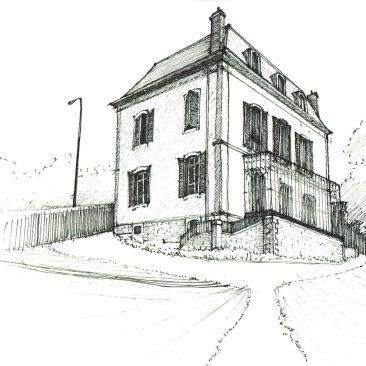 Croquis | Conservatoire de musique, Nyon